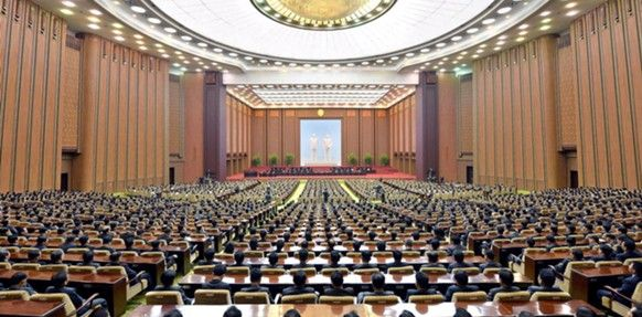 2. North Korea: Supreme People's Assembly at the Mansudae Assembly Hall in Pyongyang (687 seats)