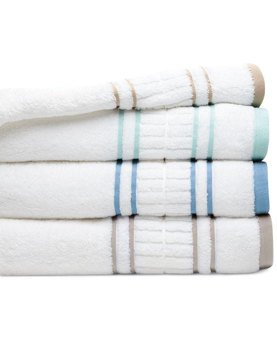 Martha Stewart Collection Plush Dobby 30 X 54 Bath Towel Bath