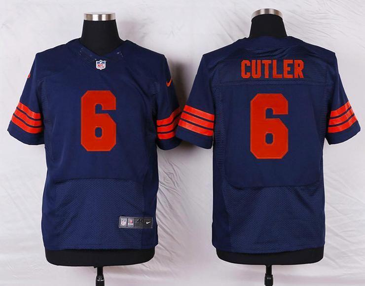 2102124cc Men 6 Jay Cutler Jersey Football Chicago Bears Jersey