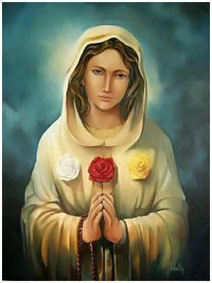 Resultado de imagen de virgen de la rosa mistica
