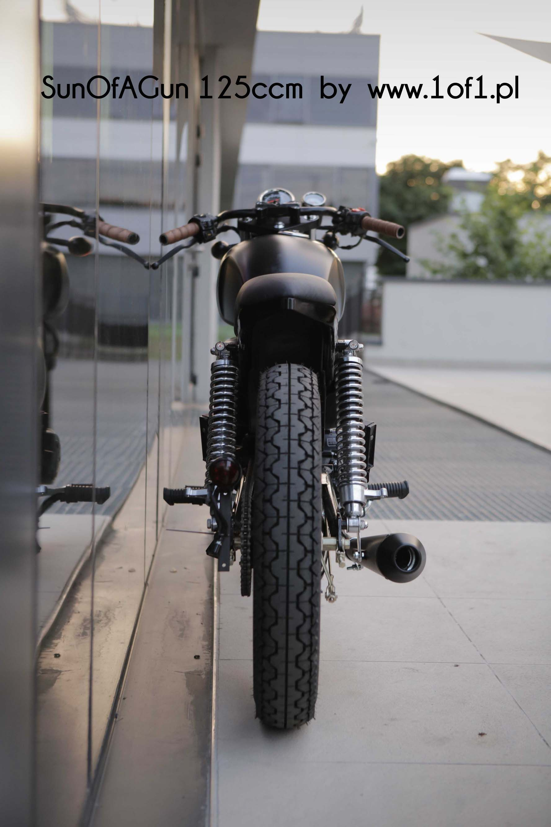 Ogar 125 Ccm Son Of A Gun By Unikat Motorworks Custom Garage All New Cbr 150r Slick Black White Jakarta
