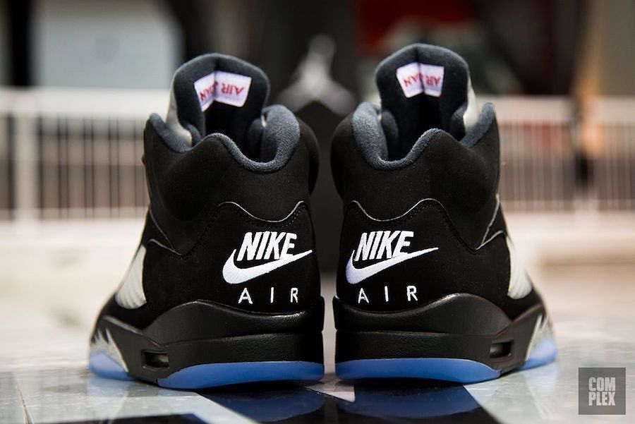 low priced f6fe9 da172 The Nike Air Jordan 5 OG Black Metallic will be returning as part of Jordan  Brands big lineup for 2016.