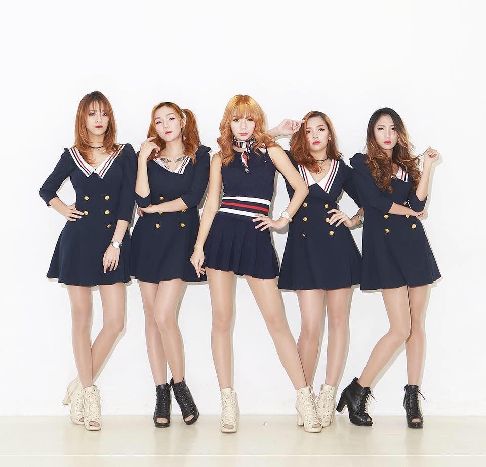First Ever Filipina K Pop Girl Group Hab Korea Net Filipina Girls Kpop Girls Girl Group