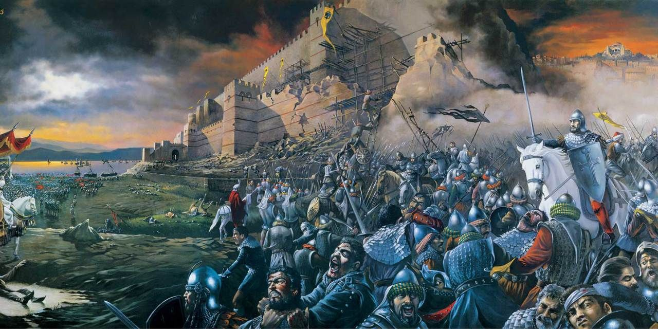 The Fall of the Eastern Roman Empire and the City of ...