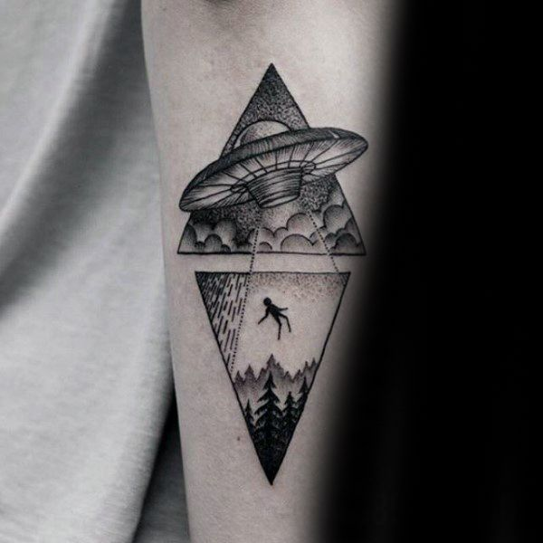Top 63 Alien Tattoo Ideas 2020 Inspiration Guide Glyph Tattoo Alien Tattoo Tattoos