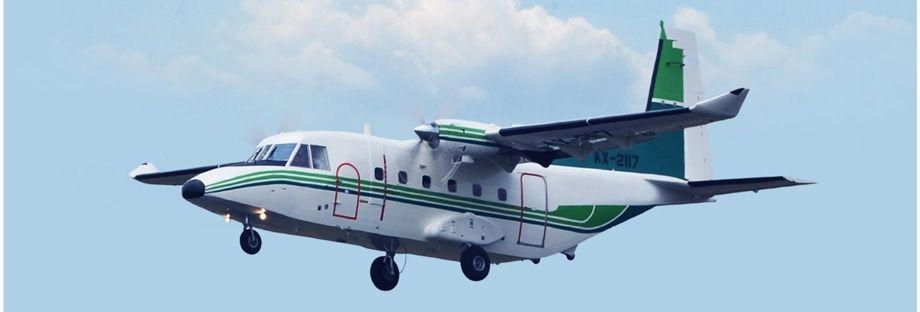 Pesawat Terbang Nc212i Buatan Pt Dirgantara Indonesia Pesawat