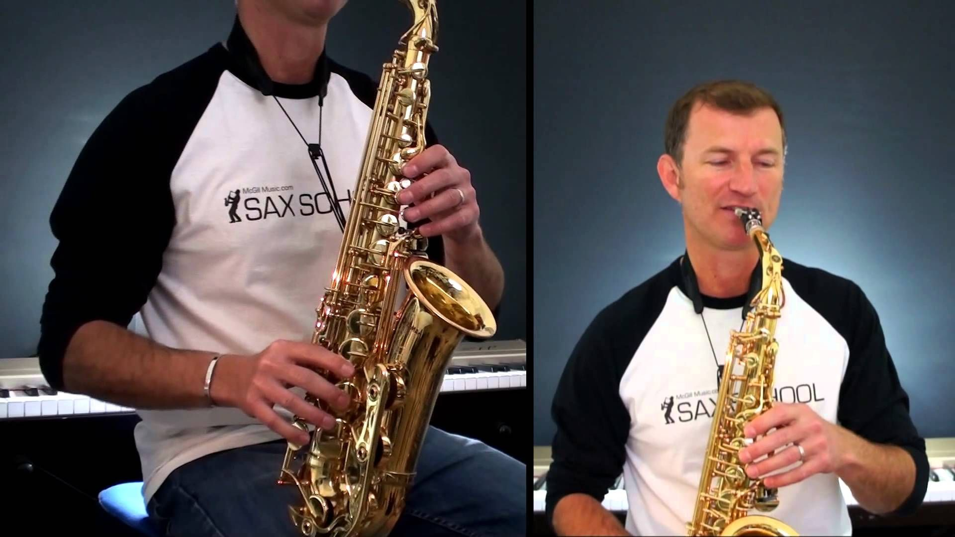Love Plus One By Haircut 100 How To Play On Alto Saxophone Sample