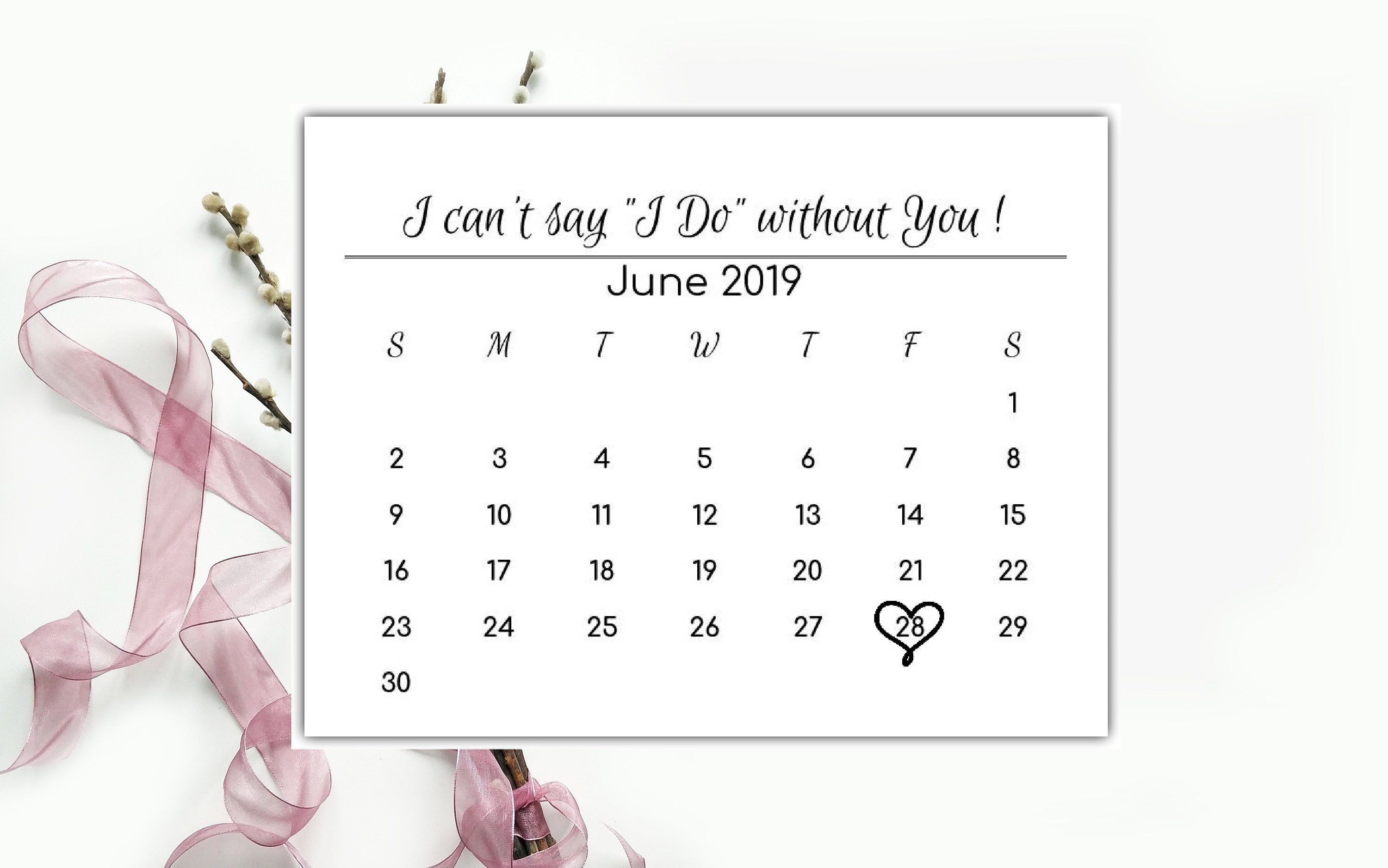 It is a graphic of Superb I Can't Say I Do Without You Free Printable
