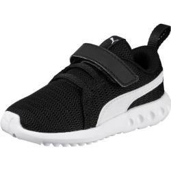 Puma Kinder Sneaker Carson 2 V Inf, Größe 25 In Puma Black-Puma White, Größe 25 In Puma Black-Puma W