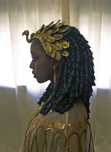Новости | Египетский костюм, Волосы искусство
