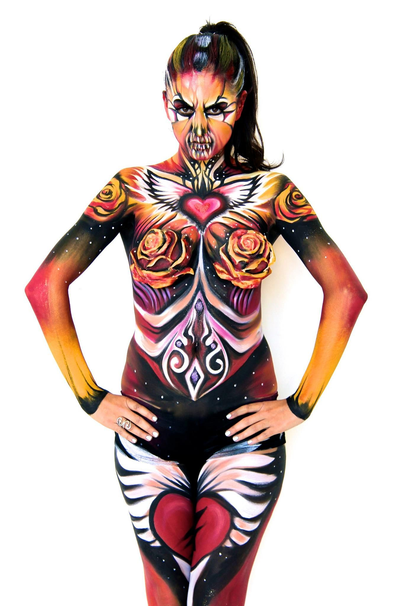 Fantasy Body Art Body Painting Body Art Painting Body Painting Festival