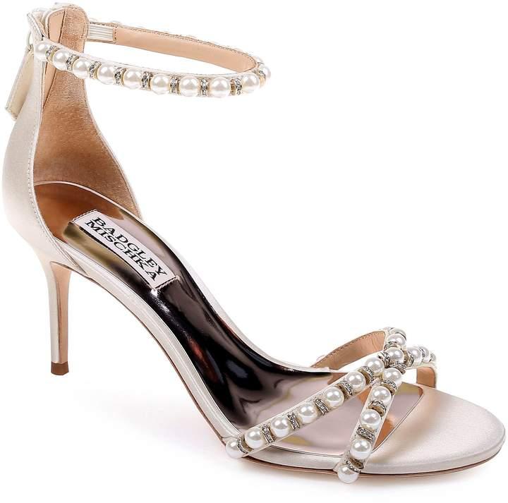 Bridal Shoes At Nordstrom: Badgley Mischka Hannah Embellished Ankle Strap Sandal
