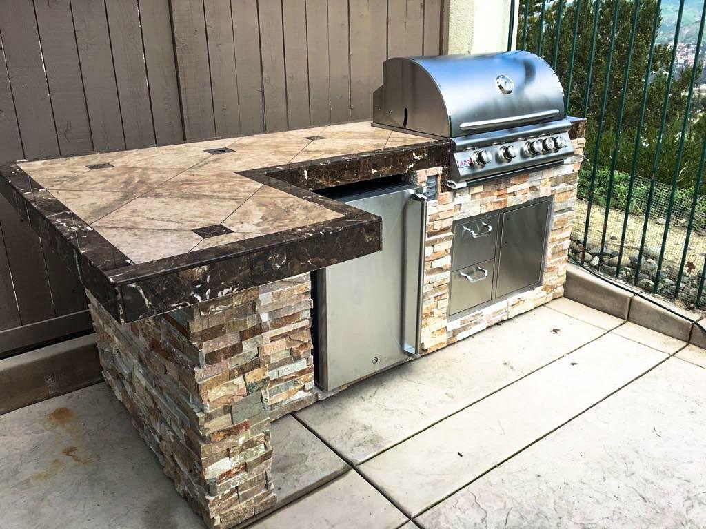 Backyard Bbq Islands Outdoor Kitchen Countertops Outdoor Kitchen