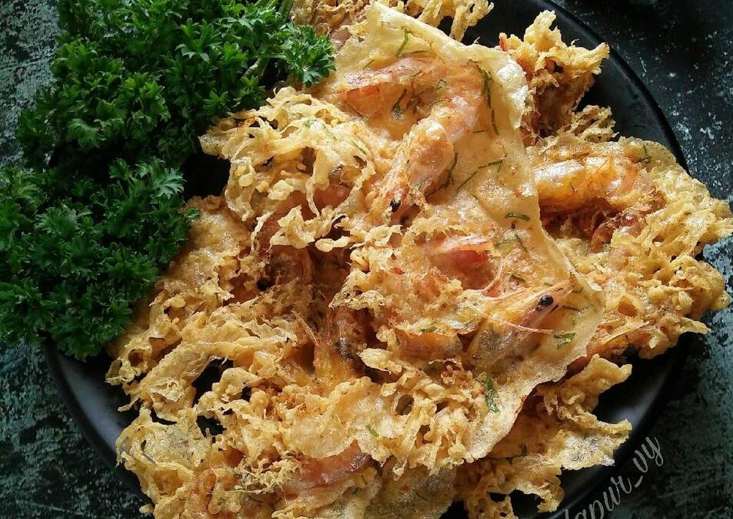 Resep Peyek Udang Rm Padang Awet Kriuknya Oleh Dapurvy Resep Makan Malam Resep Makanan Sehat Resep