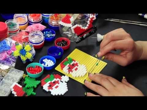 Video tutorial babbo natale con occhi 3d eyes 3d santa for Youtube decorazioni natalizie