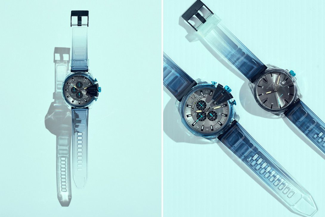 Mad Dog Jones Illustrates The Heavy Transparency Collection By Diesel Mad Dog Diesel Transparent