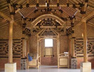 desain teras rumah bambu | home fashion, rumah, desain