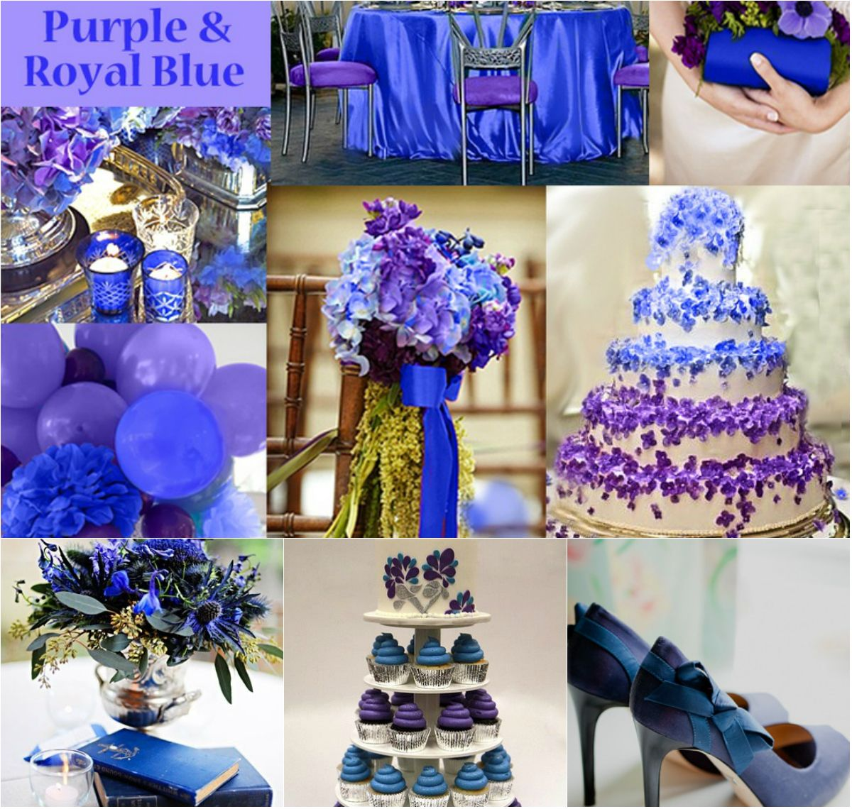 Top 4 Royal Blue Wedding Ideals Royal Blue Wedding Blue Purple