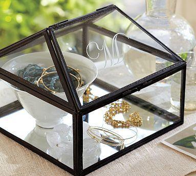 Atrium Jewelry Box #potterybarn