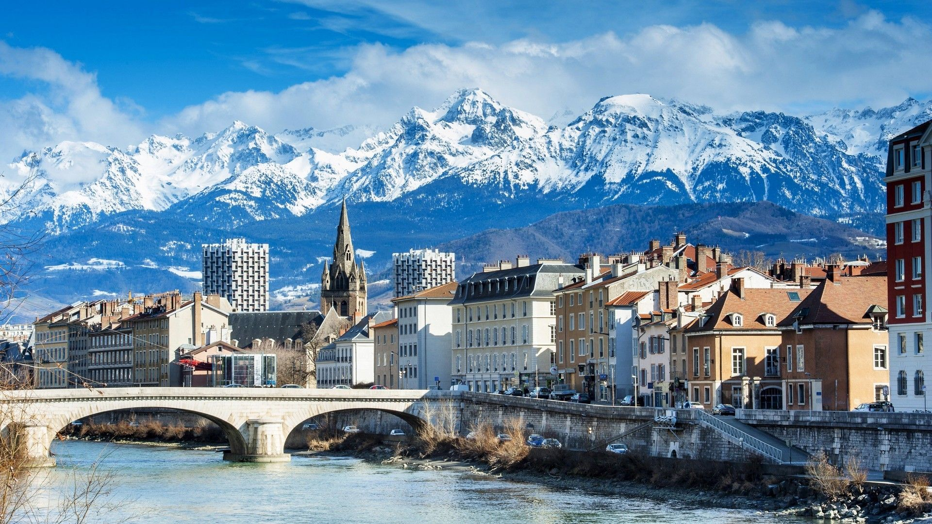 Grenoble France French Alps Most Beautiful Cities Places To Visit