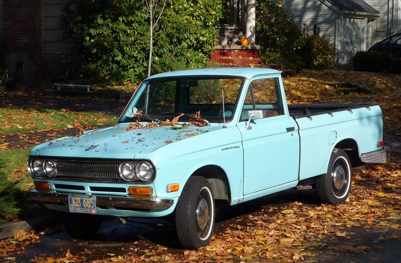 pick up trucks for sale curbside classics the first mini pickups datsun s 1964 320 1200. Black Bedroom Furniture Sets. Home Design Ideas
