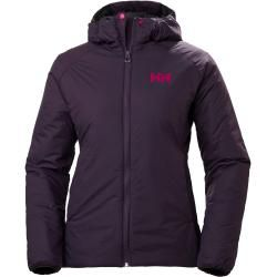 Photo of Helly Hansen Woherr Odin Stretch Hooded Insulator Hiking Jacket Purple Xs