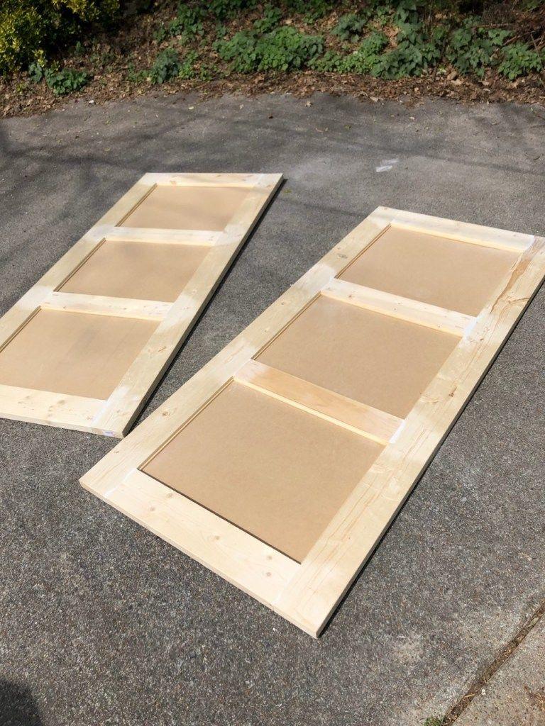 DIY Sliding Barn Door to Replace Bi-Fold Closet Doors ...