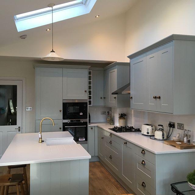 Stunning Matt Shaker Kitchen Design. Another Successful