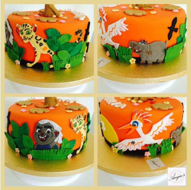 vue du gâteau | gâteau garde du roi lion | pinterest | les gateaux