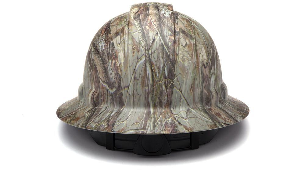 Camo Hard Hat Ridgeline Full Brim 4 Pt Adjust Ratchet Matte Pattern ... af0ff6bff3bc