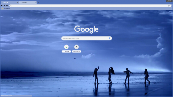 Mamamoo Starry Night Chrome Theme Themebeta In 2019