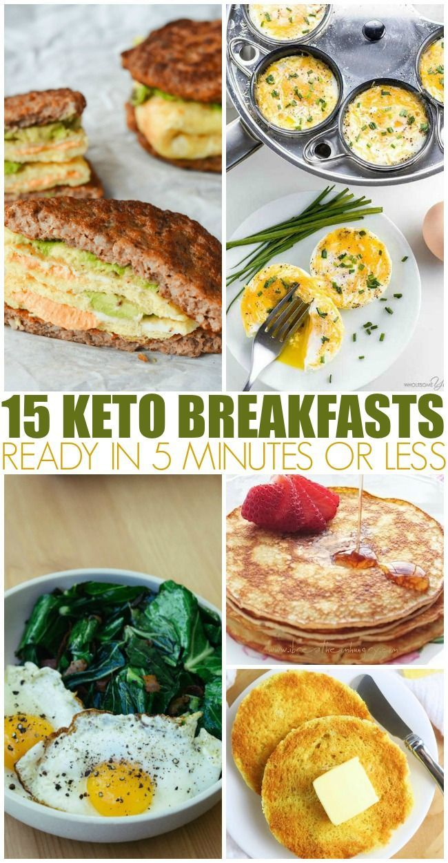 15 Keto Breakfasts Ready In 5 Minutes Or Less images