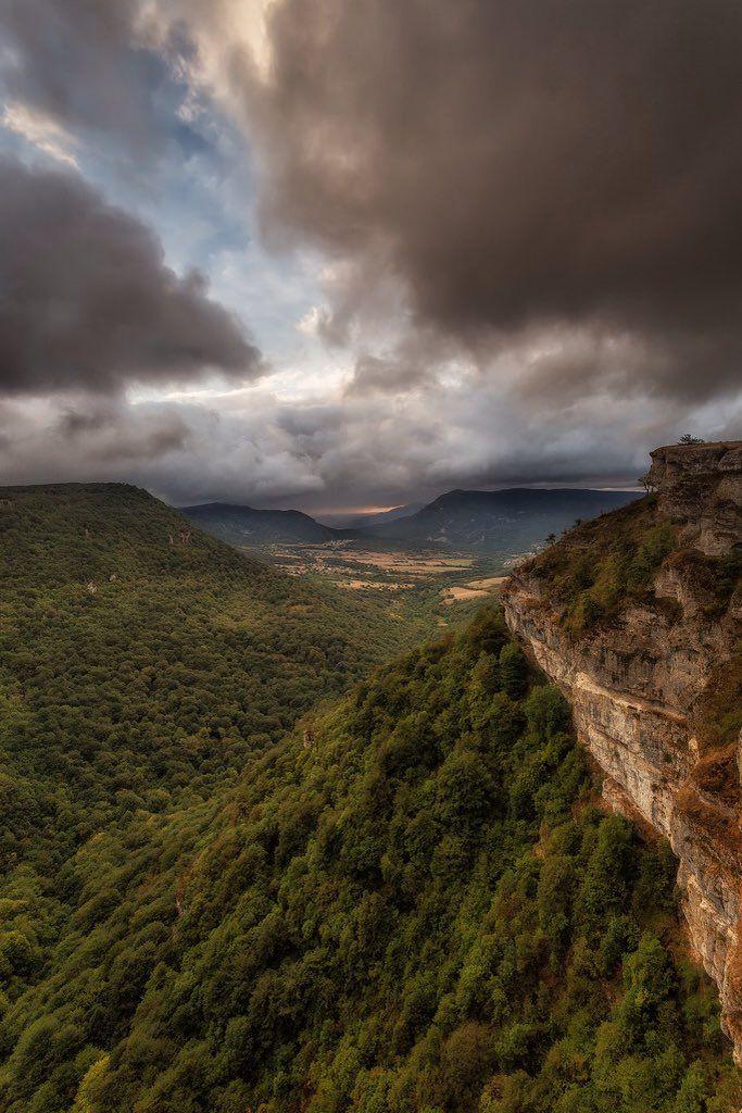 Espectacular vista desde el Mirador del Balcón de Pilatos,Parque Natural de Urbasa-Andía #Navarra (By @NationalImages / Twitter)