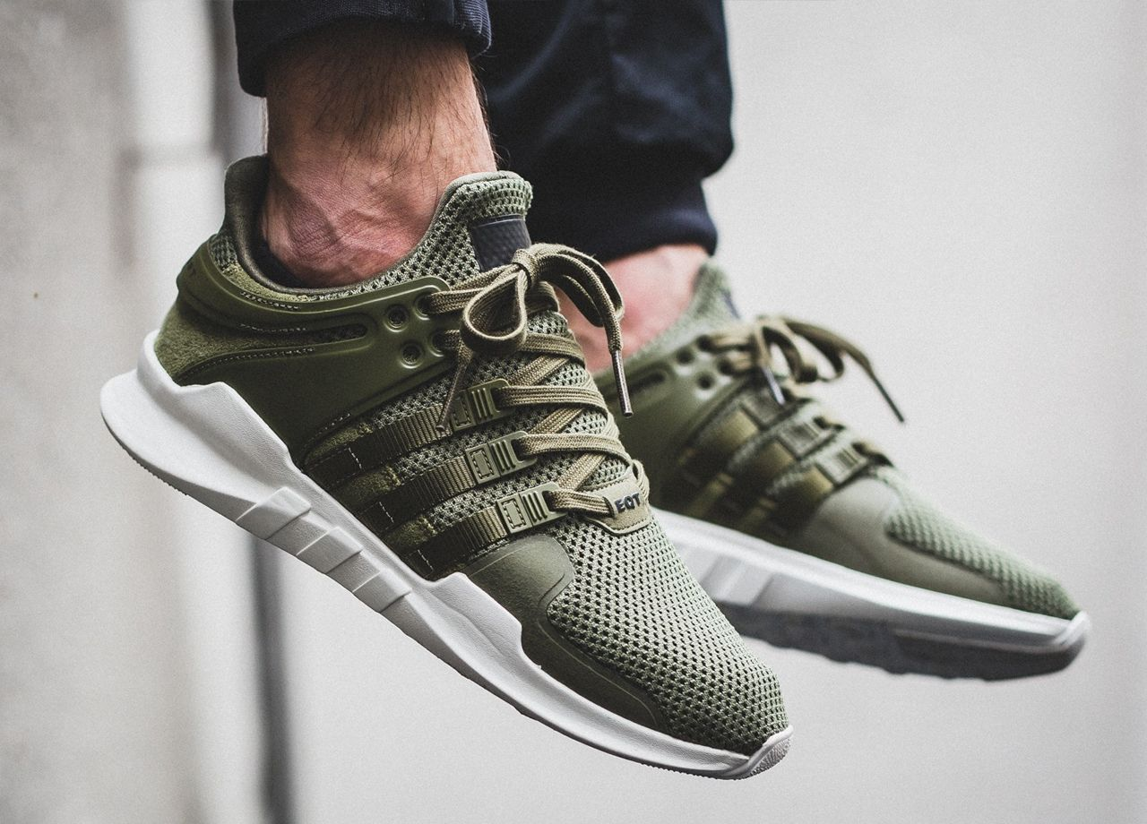 adidas originals Men Sneakers Eqt Support Adv in olive Shoes
