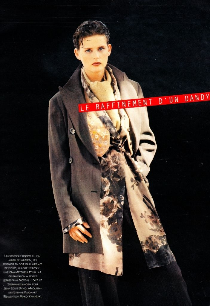 Marie Claire France Sept 1994, Stella Tennant.