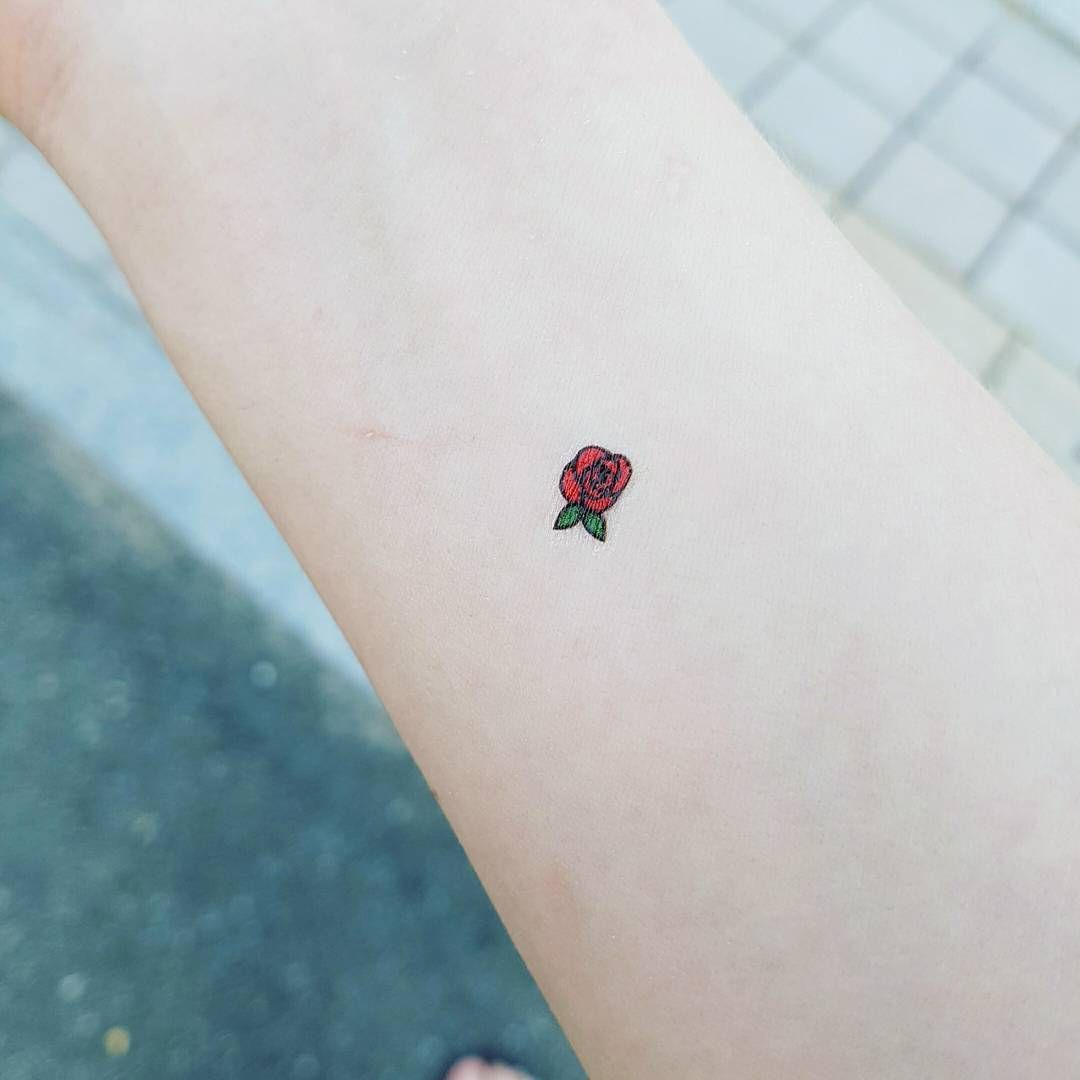 rose-tattoos-minimal-arm-design The Most Lovely and Beautiful ever inked #rose #tattoo designs ...