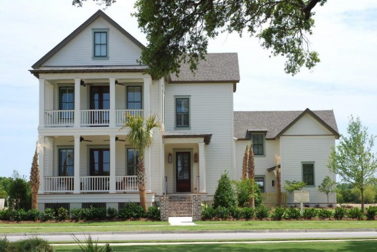 Image result for brown roof white house House exterior