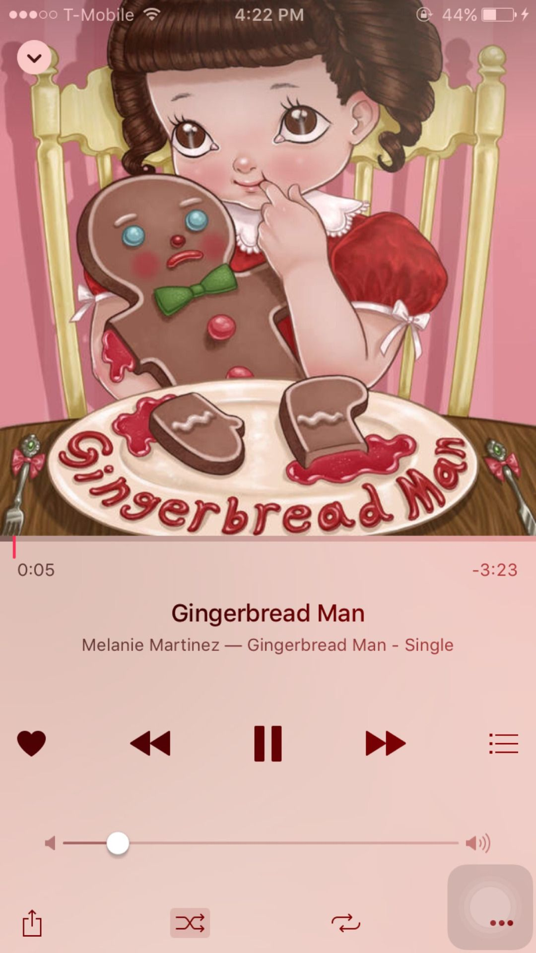 Kawaii Love Gingerbread Man is now available on iTunes
