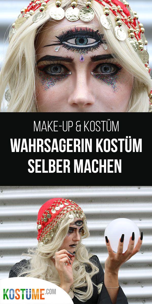 Tutorial: Wahrsagerin schminken #modernwitch