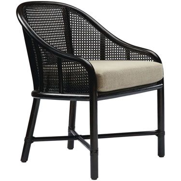 McGuire Furniture: Caned Barrel Chair: M-423ggg | Furnishings ...