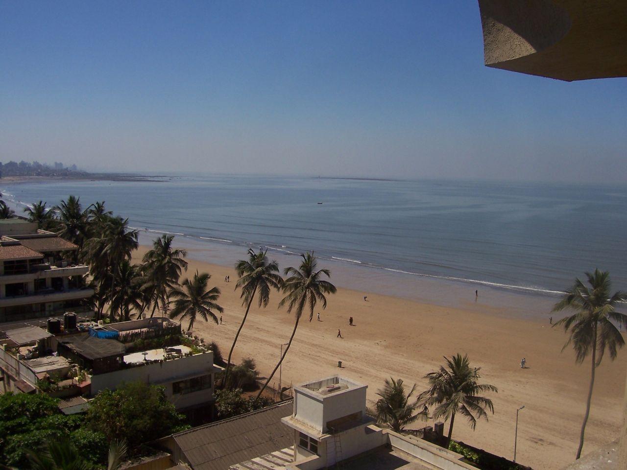 Juhu Beach In Mumbai India