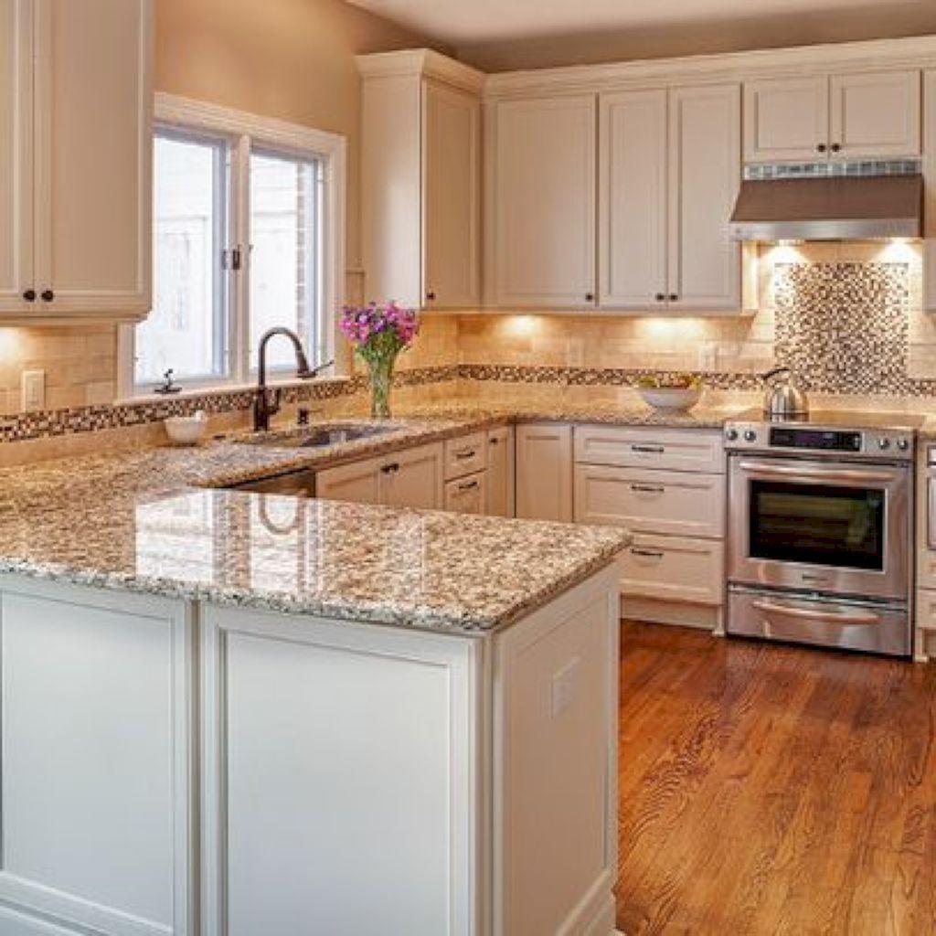 31 luxury white kitchen cabinets design ideas home renovation rh pinterest com