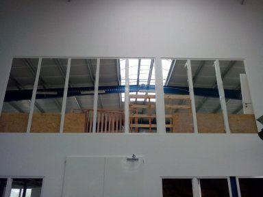 Glass wall EW60DP1