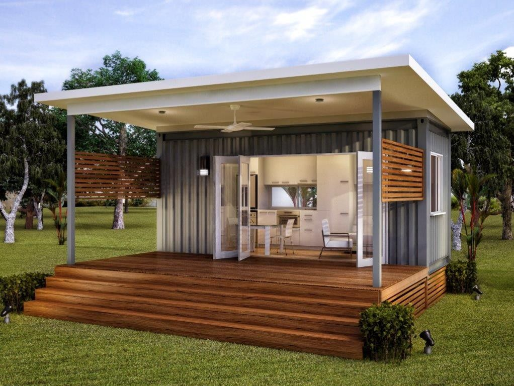 Granny flats are small and can be built easily and quickly for Modular granny flat california