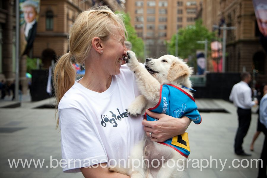 A super puppy with one of our Ambassadors #TamsynLewis www.bernasconiphotography.com