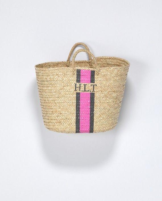Monogram Basket