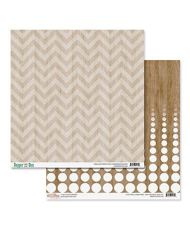 Look what I found on #zulily! Zigzag Dapper Dan Cardstock Paper Set #zulilyfinds