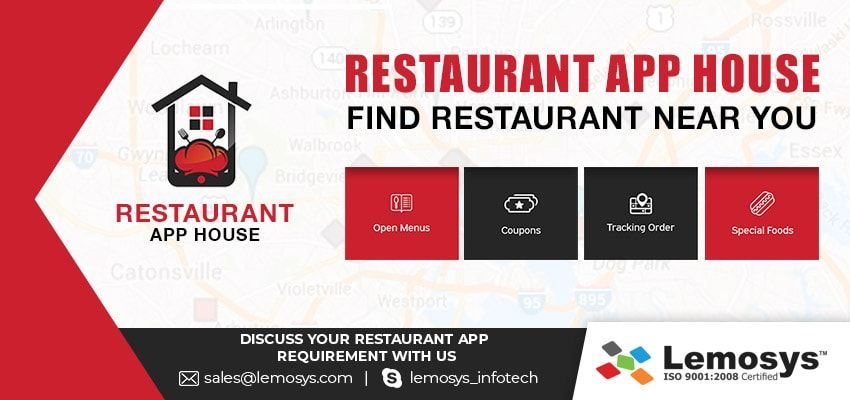 Restaurant App House Features and Benefits of Unique