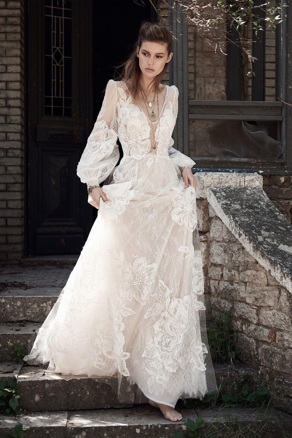 115 Best Bohemian Wedding Dresses - Boho Wedding Dress Ideas for ...