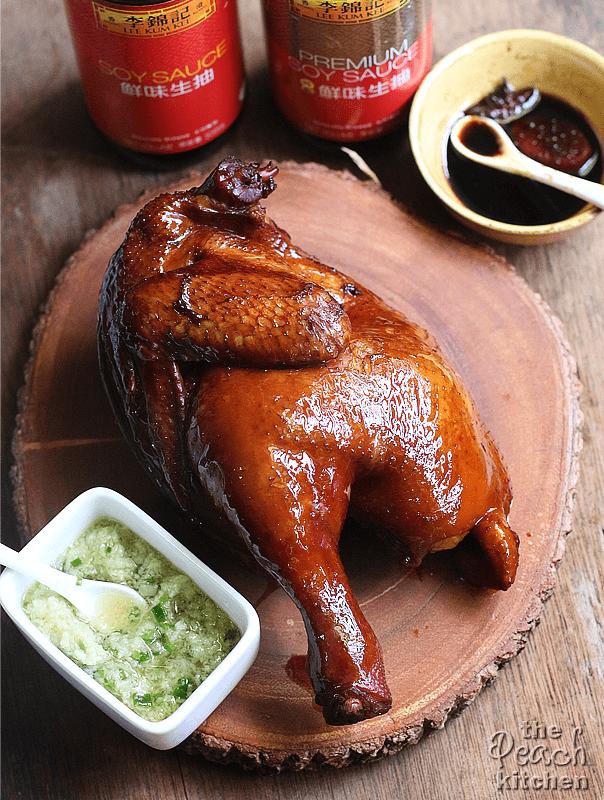 Lee Kum Kee Soy Sauce Chicken | The Peach Kitchen
